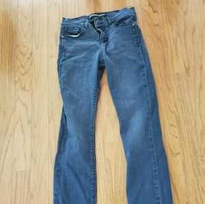 Express Jeans Barely boot 8 regular